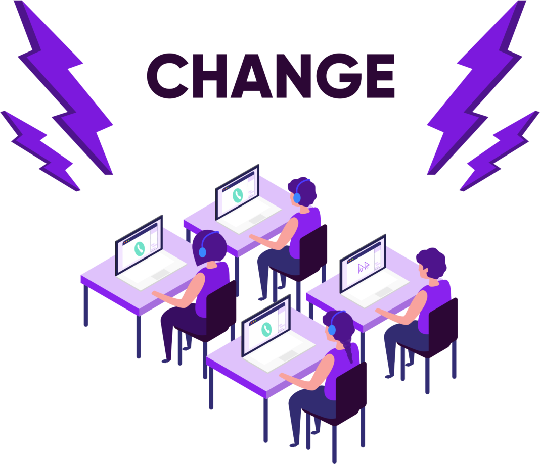 Change in the Contact Center
