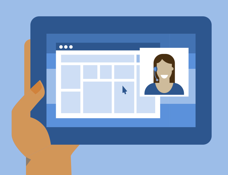 video chat for business