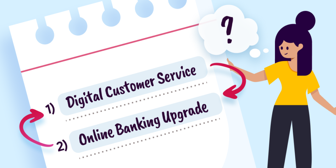 Digital Customer Service BEFORE an Online Banking Upgrade? Prioritizing Customer Experience for Smoother Technology Transitions