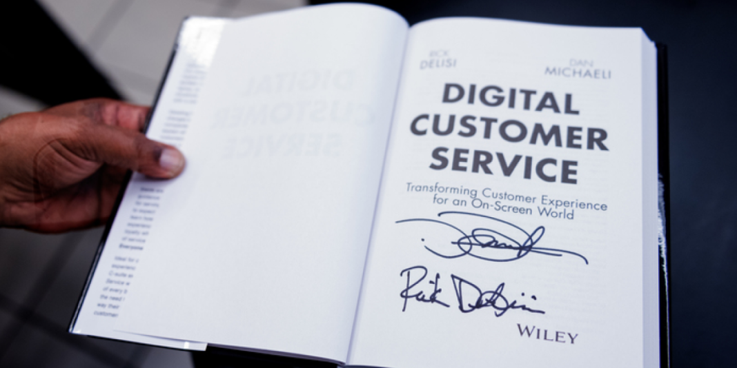 Now It's Our Turn: Signed Digital Customer Service Book